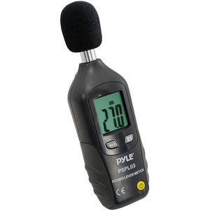 Mini Sound Level Meter W/ A Frequency Weighting / Mfr. No.: Pspl03
