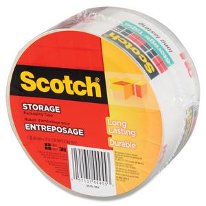 Scotch® 3610 Storage Tape 48 mm x 50 m Clear