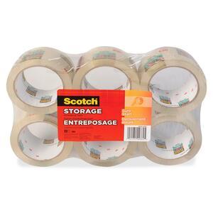 Scotch® 3620 Storage Tape 48 mm x 50 m Clear 6/pkg