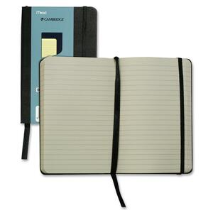 """Hilroy Pocket Size Memo Business Notebook - 96 Page - Ruled - 3.56"""" x 5.56"""" - Cream"""