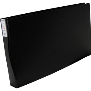 "VLB Duraply Large Format D-Ring Binder 11"" x 17"", 1"" Black"