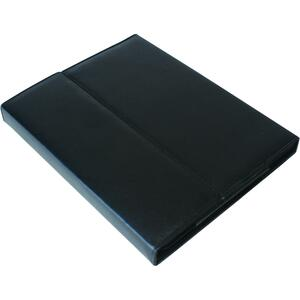 Vision Global® iPad 2 Genuine Leather Case with Kleen Keys Keyboard Black