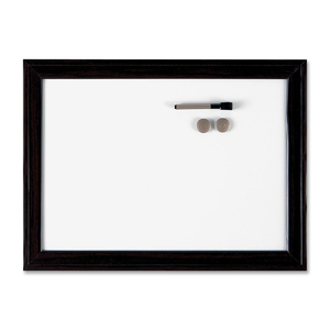 "Quartet® Espresso Home Décor Magnetic Dry Erase Board 24"" x 36"""