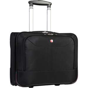 "SwissGear® Wheeled Business Case with Notebook Compartment 15.6"" Black"