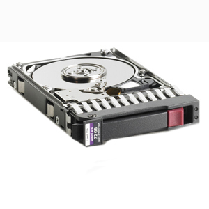 HP 72Gb SAS 3G 15K SFF DP HDD