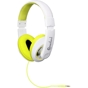 Cl-Aud63033 Headset 3.5mm 58in Circumaural Lightweight Lime/Wh / Mfr. no.: CL-AUD63033