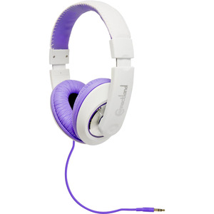 Cl-Aud63032 Headset 3.5mm 58in Circumaural Lightweight Purple/ / Mfr. No.: Cl-Aud63032