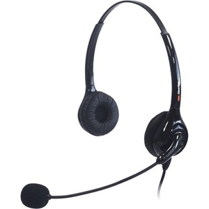 Chat 30d USB Headset In-Line Vol Control Dual Earpiece / Mfr. no.: 910-000-30D