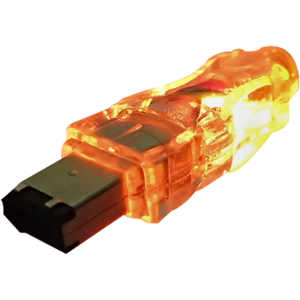 6ft 6pin Firewire/I.Link M/M Translucent Cable With LED Oran / Mfr. No.: Cc1394-06orl