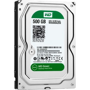 500gb Caviar Green SATA Disc Prod Special Sourcing See Not / Mfr. No.: Wd5000azrx