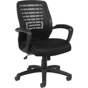 Offices To Go Zune Medium Back Tilter Chair Quilt Black