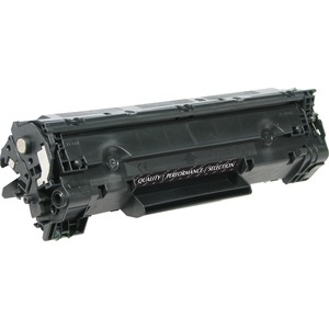Black Toner Cart For Hp P1505 Cb436a 3k Ultra High Yield TAA / Mfr. No.: Thk2436ajh