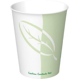 Solo® Bare® Compostable Hot Cups 8 oz. 50 cups/pkg