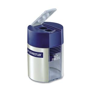 Staedtler® Pencil Sharpener with Container Double Hole