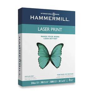 Hammermill® Laser Print Paper 98B 24 lb Letter 500 sheets/pkg