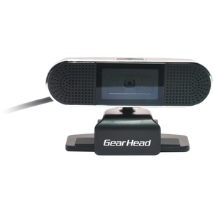 Gear Head 8MP 1080P HD WebCam with Stereo Microphone - Black/Silver / Mfr. No.: Wc8500hd