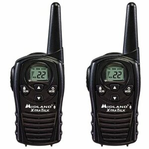 Gmrs 2-Way Radio 22 Channels Up To 18 Miles Pair / Mfr. No.: Lxt118