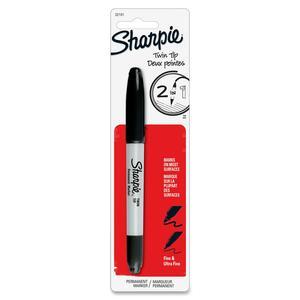 Sharpie® Twin Tip Permanent Marker Black