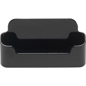 Deflecto® Sustainable Office Business Card Holder 50 Card Capacity Black