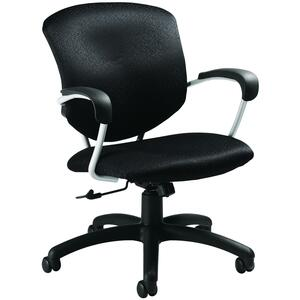 Global® Supra Low Back Tilter Chair Hudson Carbon