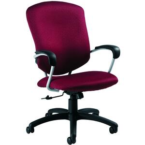 Global® Supra High Back Tilter Chair Hudson Cordovan