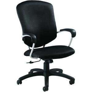 Global® Supra High Back Tilter Chair Hudson Carbon