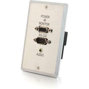 300ft Single Gang VGA+3.5mm Audio+Rs232 / Mfr. No.: 29371
