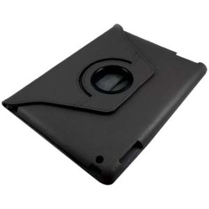 Hard Case/Stand For IPad 2/3 Rotates Screen 360 Degree Black / Mfr. No.: I015c08rbk