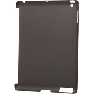 Hard Case For IPad 2/3 Rubber Protects Back Black / Mfr. No.: I015c04rbk