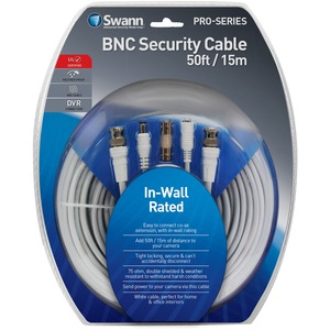 50ft Fire Rated Bnc Ext Cable / Mfr. no.: SWPRO-15MFRC-GL