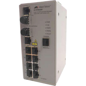 8port 10/100t Industrial Managed Switch W/ 2sfp Combo Po / Mfr. no.: AT-IFS802SP-80
