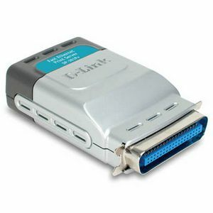 D-Link Express EtherNetworkTM Fast Ethernet Print Server / Mfr. No.: Dp-301p+