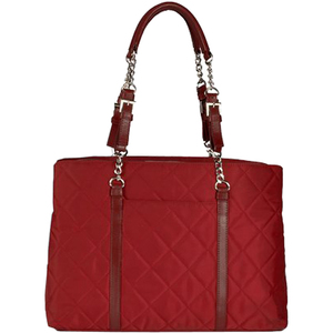 Wib Metropolitan 15.6 Scarlet Quilted Laptop Tote / Mfr. No.: Wib Mqs