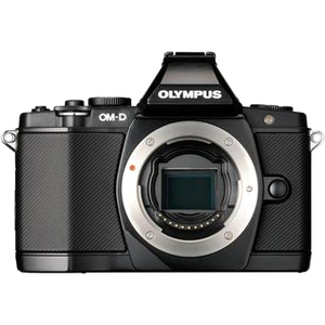 Olympus OM-D E-M5 16.1 Megapixel Mirrorless Camera Body Only - Black