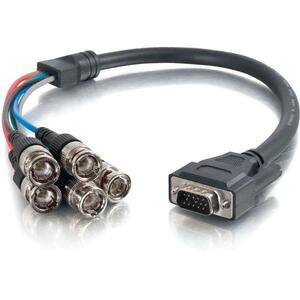 1.5ft Hd15 To 5 BNC Rbvhv M/M Video Cabl 75 Ohm 28awg Mini Co / Mfr. No.: 02572