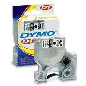 """DYMO® D1 Replacement Tape 1"""" Black on White"""
