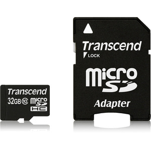 Transcend 32GB Ultimate microSD High Capacity Card Class 10 / Mfr. No.: Ts32gusdhc10