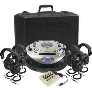 Califone Spirit Sd Listening Center W/ 6headphone By Ergoguy / Mfr. no.: 1886PLC-6