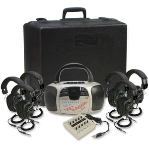 Califone Spirit Listening Center W/ 6headphone By Ergoguy / Mfr. no.: 1776PLC-6