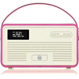 View Quest Retro Clock Radio
