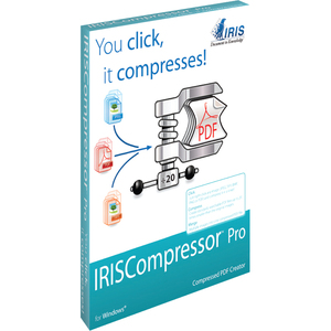 Iriscompressor Pro You Click It Compresses / Mfr. no.: 457481