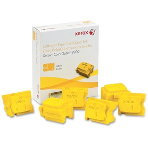 6pk Yellow Ink Stick For Colorqube 8900 / Mfr. No.: 108r01016