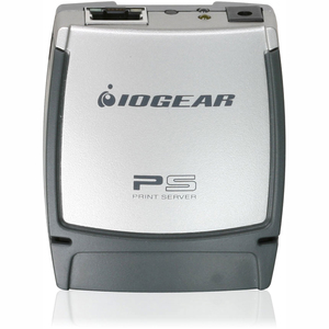 Iogear 1-port USB 2.0 Print Server / Mfr. No.: Gpsu21w6