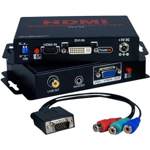 HDMI/DVI HDTV/Hdcp To VGA/Rgb 720p/1080p Break-Outs / Mfr. No.: Hcv-Va