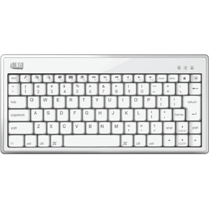 Bluetooth 3.0 Mini Scissorswitch Keyboard For All IPad And Bluetooth Mobile Tabl / Mfr. No.: Wkb-1010bw