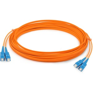 3m Fiber Optic Mmf Sc/Sc 62.5/125 Duplex Cable / Mfr. No.: Add-Sc-Sc-3m6mmf
