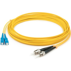1m Singlemode Fiber Optic St/Sc 9/125 Duplex Cable / Mfr. no.: ADD-ST-SC-1M9SMF