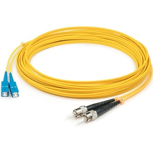 3m Singlemode Fiber Optic St/Sc 9/125 Duplex Cable / Mfr. no.: ADD-ST-SC-3M9SMF