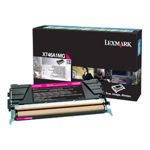 Magenta Toner Cartridge For X746 X748 Return Program / Mfr. no.: X746A1MG
