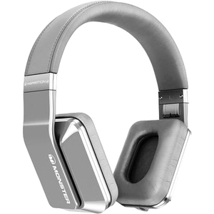 Monster Cable 128888 Inspiration Noise Canceling Over-Ear Headphones Titanium